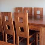 Comedor 8 sillas modelo linea recta