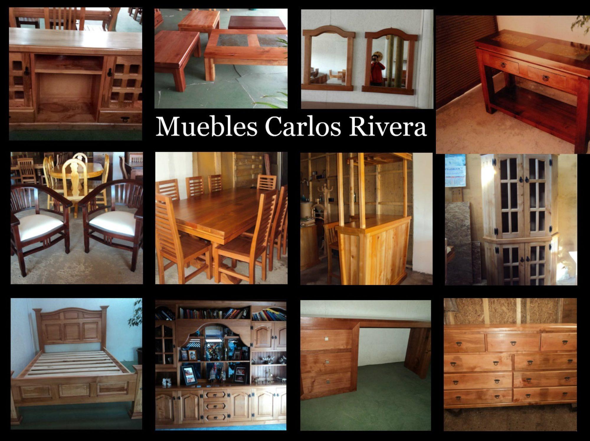 Artesanía en muebles CarlosRivera